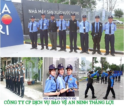 Professional security guard service in Binh Duong